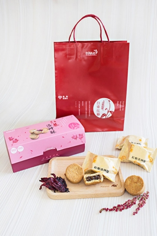 紅藜洛神酥(奶蛋素) 7